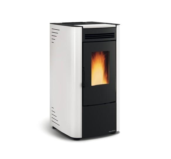 La Nordica Extraflame - Stufa a pellet aria - Modello Ketty Evo  - Colore bianco - Codice 1280210