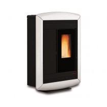 La Nordica Extraflame - Stufa a pellet aria - Modello Souvenir Lux  (Canalizzata) - Colore bianco  - Codice 1275701