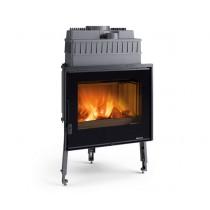 La Nordica Extraflame - Caminetto a legna - Serie Focolari - Modello Focolare 70 Piano Evo Crystal - Codice 6017771