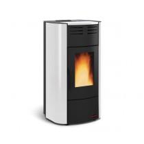 La Nordica  Extraflame - TermoStufa a pellet aria - Modello Raffaella Idro 2.0 - Colore Bianco  - Codice 1280305