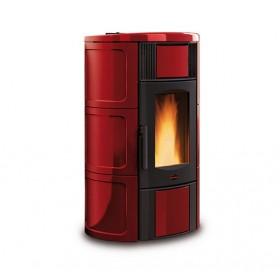 La Nordica  Extraflame - TermoStufa a pellet aria - Modello Iside Idro  2.0  - Colore Bordeaux  - Codice 1274218